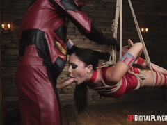 Superhero sex with Ariana Marie and Xander Corvus