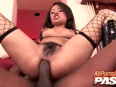 Watch black cocked and analled Annie Cruz