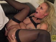 Kinky Milf Sasha Steele throated and fucked hard in butt