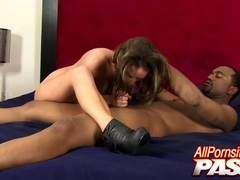 Cock Sucking Alexxxa May Black Cock Fucked
