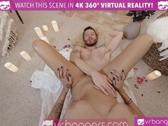 VR PORN Thanksgiving Dinner becomes hot and dirty
