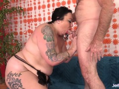 BBW Calista Roxxx gets her pussy nailed