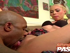 Big Cock Sucking Angel Marie Works Her Magic