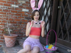 Hot Easter pussy play with Jenna Sativa and Misty Lovelace