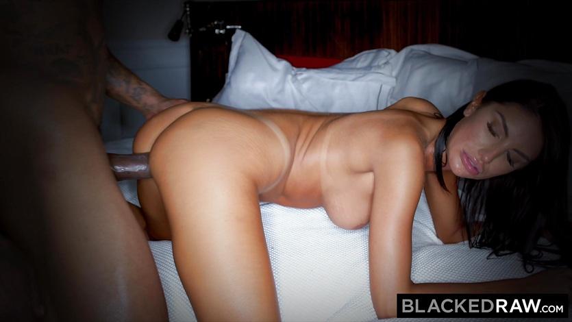 Blackedraw beautiful hot wife loves to rim black bulls in hotels 4