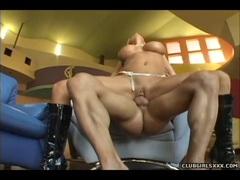 Nadia Hilton Enjoys A Hard Dickpole