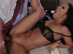 Takers pt 1 Asa Akira fucked by older mans big dick