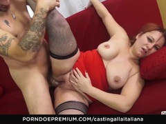 CASTING ALLA ITALIANA Italian mature deep anal
