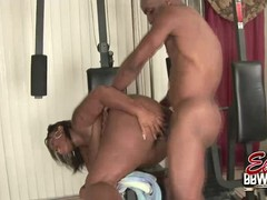 Sexy BBW Skyy Black Doggystyle Fucked