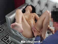 CastingCouch X Petite Sadie Pop fucked at casting