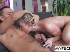 Avy Scott gets stuffed by her boy toy Keni Styles