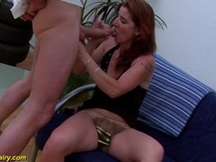 German hairy mature extreme fisting sesh