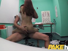 Fake Hospital Swallowing doctors hot cumload helps