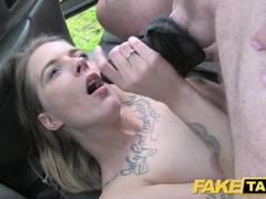 Fake Taxi Sexy Holland short skirt and stockings