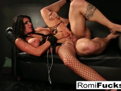 Horny Romi Rain Chained and fucked