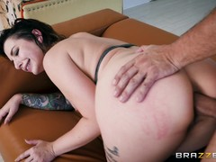 Horny Ivy Lebelle ass fucked by hung Keiran Lee