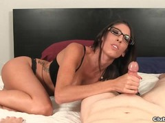 Sexy Teen Strokes Your Cock Shaft