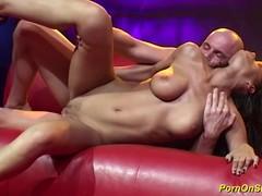 Couple fucking on public stage