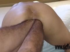 Double anal fisting extreme amateur babe Latina