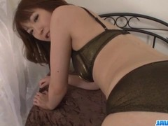 Asian Nonoka Kaede, sucks and fucks in