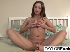 Solo playtime with Taylor Vixen