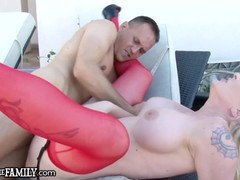 My Sexy Stepmom Squirted from My Cock