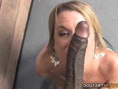 Cougar Jessie Fontana Loves Black Pole