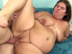 BBW Danni Dawson Gets Her Asshole Filled with Cock