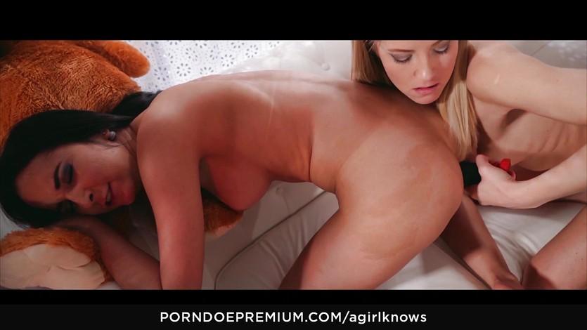 image Hot blonde sicilia enjoys anal toy action