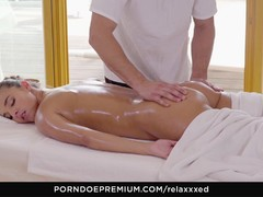 Hungarian Amirah Adara erotic massage and hot sex