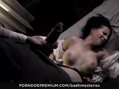 BADTIME STORIES Interracial anal fuck in BDSM session