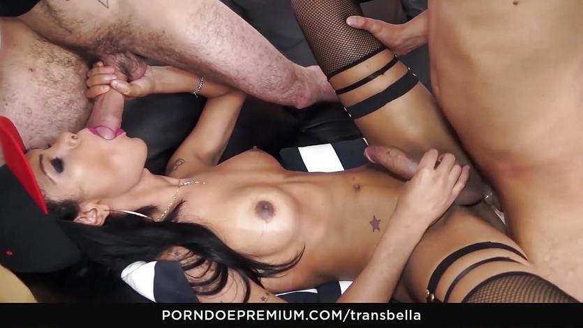 Big large cocks for latina tranny beauty