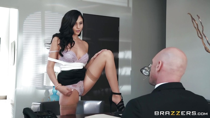 Ariana Marie feasting on a rock hard cock