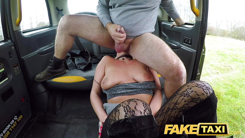 Female Fake Taxi Pussy Eating