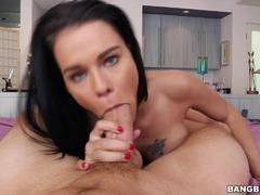 Peta Jensen desperate for a hot load in her pussy